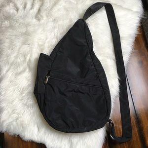 AMERIBAG Black Nylon Bag-Pack